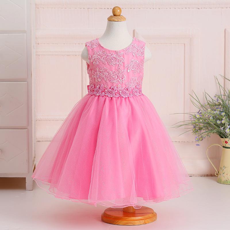 Últimas 2017 nuevos diseños niños vestido niñas vestido de boda ...