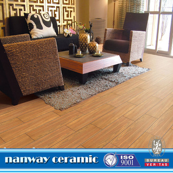 Non Slip Wood Look Porcelain Tilewood Design Ceramic Floor Tile