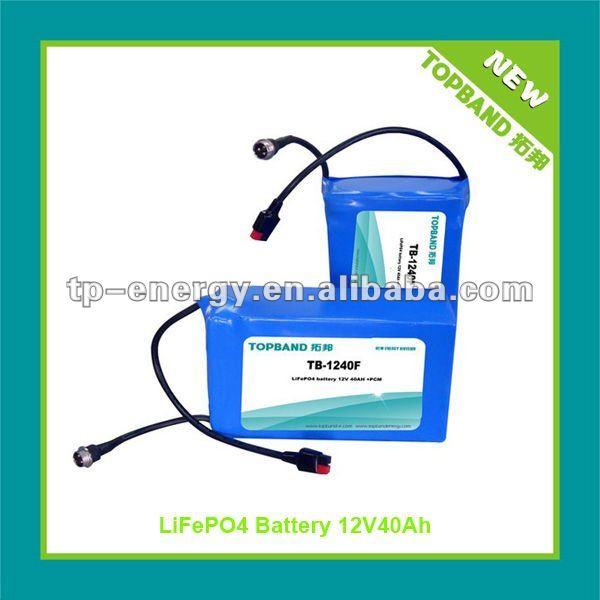 12v 40ah Lithium Ion Golf Battery For Powakaddy Electric Golf Trolleys -  Buy Lithium Ion Battery,Lithium Golf Battery,Golf Battery Product on