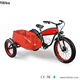 China best 2018 new top one EEC standard 4.0 tire 3 wheel electric scooter