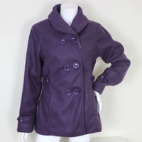 Wholesale Cheap Women And Lady Cheap Full Length Wool Varsity Coat