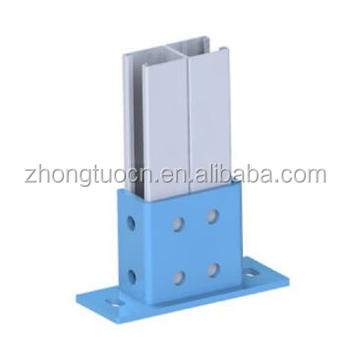 solar bracket Pied de rail double horizontal trut roll forming machine