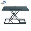 metal office desk height adjustable computer desk simple style