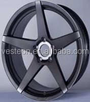 22 inch chrome/matte black/matte gunmetal alloy wheels for cars