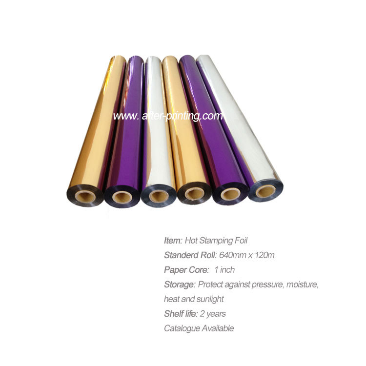 China Used Gold Hot Stamping Foil Roll/hot Stamping Foil By China ...