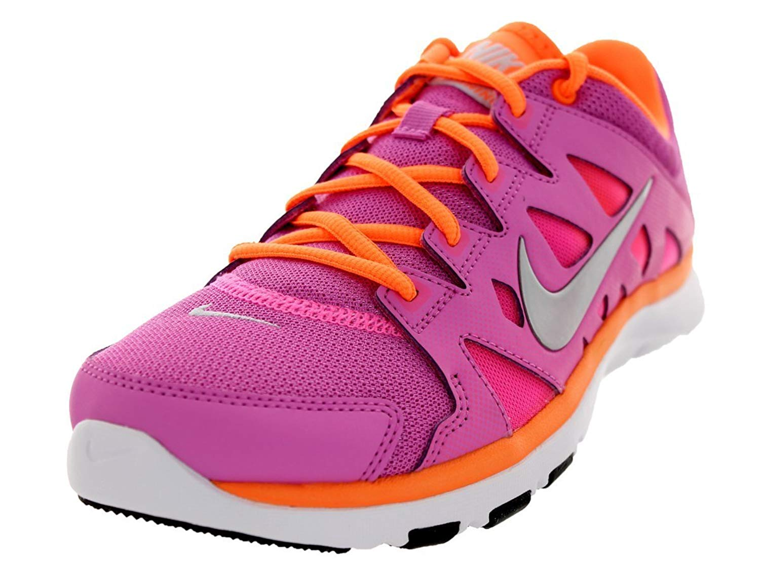 Nike Flex Supreme TR 2 Pink Orange Ladies Cross Trainers b88847898