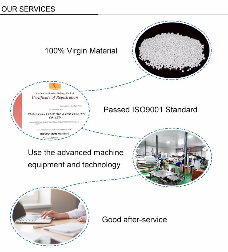 300 micron Folha Rígida PET food grade de Plástico reciclado Claro