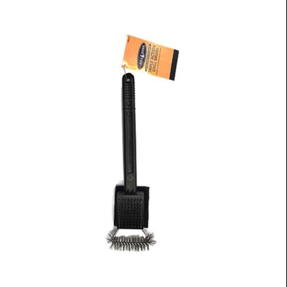 Blue Rhino Global Sourcing 00350TV Triple-Action Grill Brush