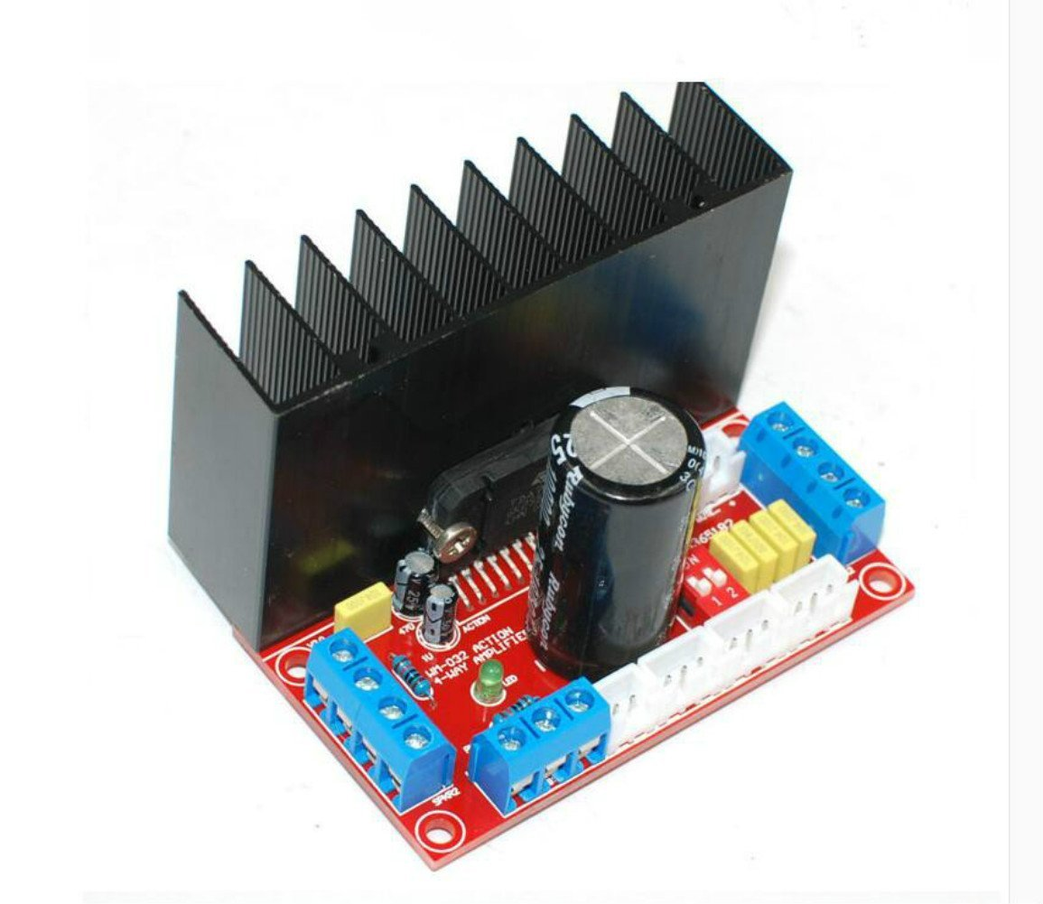 Buy Aoshike 4x50w Tda7850 4 Channels Car Audio Hifi Amplifier Board