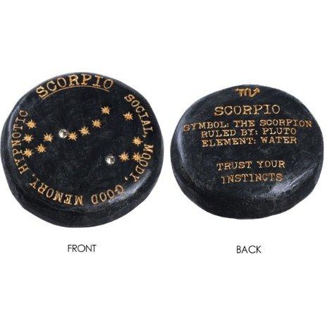 Buy Libra the Scales Lucky Zodiac Signs Black Cement Garden