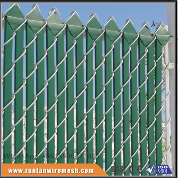 privacy pvc Chain Link Fence Slats for sale