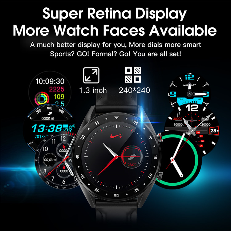 2019 Trending Products sporty Watch Phone Android Smart Watch L7 With PPG+ECG Heart Rate Blood Pressure Monitor