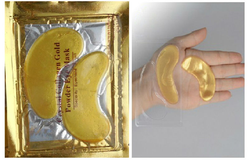 24K Gold Q10 Collagen Crystal Eye Mask