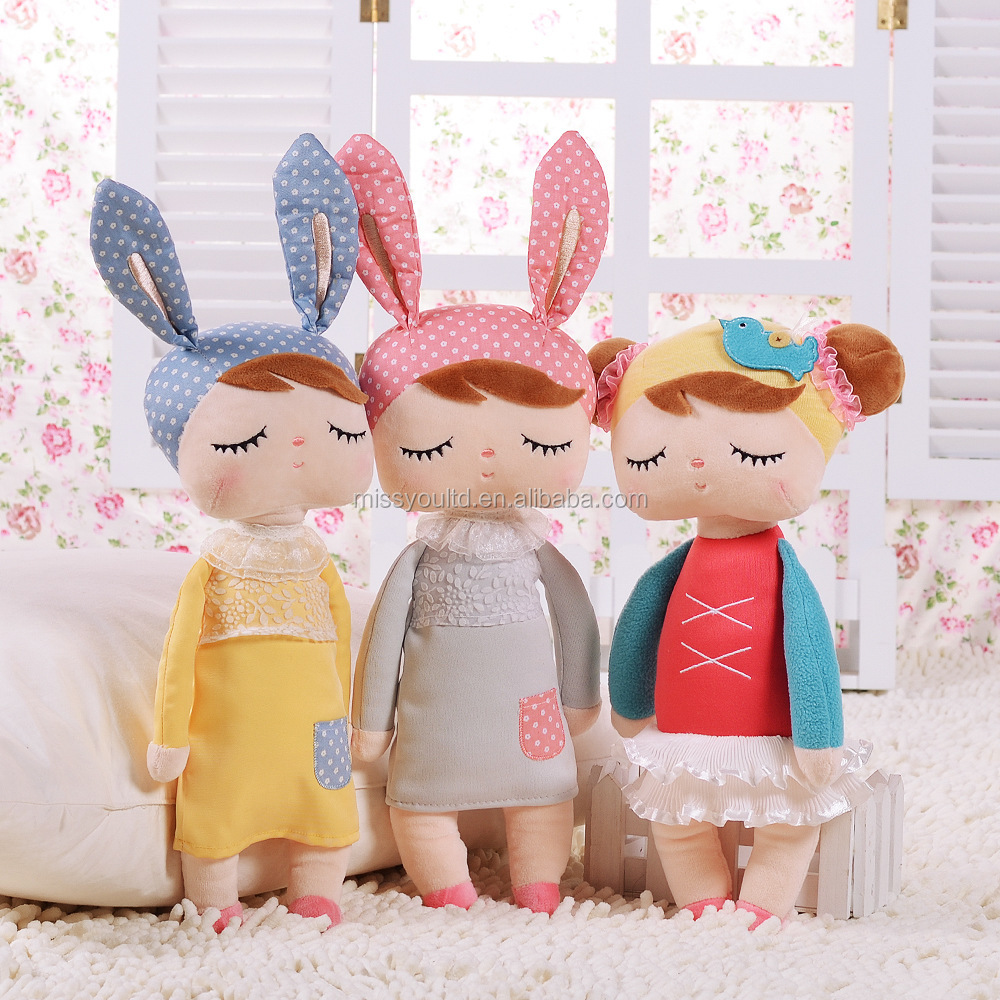 Cute <strong>rabbit</strong> soft material stuffed plush baby toys