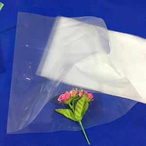 Poly material plastic shopping carry bag/ flower/ fish packing plastic bag