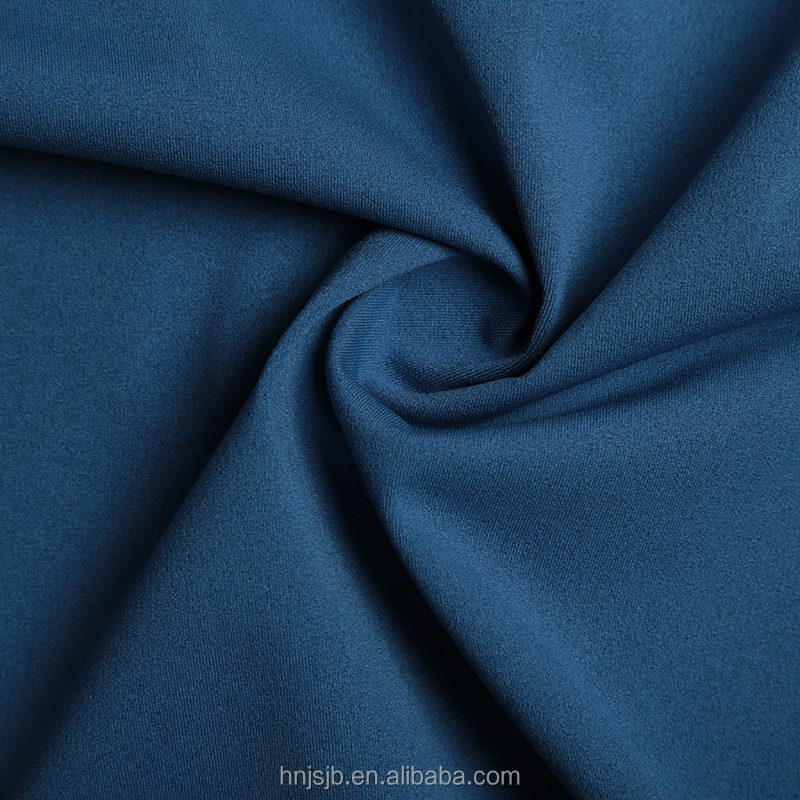 Wholesale Free Samples Plain Dyed Best quality Haining polyester Fabric fleece knitted upholstery fabric for cloth trousers