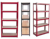 Heavy duty metal 5 tier sheet steel pipe industrial storage rack shelf/carpet storage rack metal plate shelf