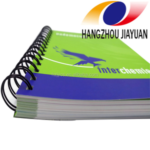 Catalog printing cheap price spiral book print