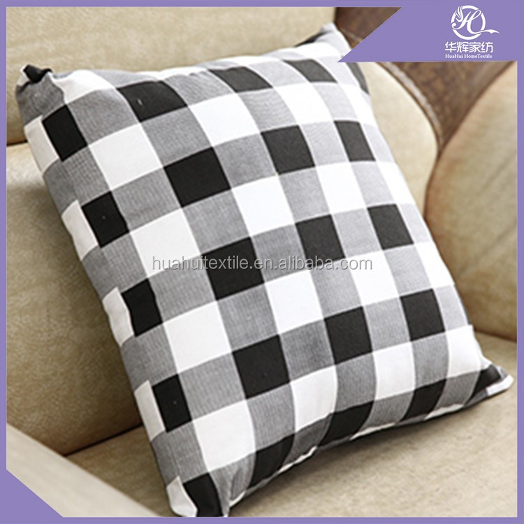 Housewear & Furnishings applique work cushion pillows 100% polyester cushion covers , comfort Cushion Cover