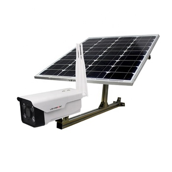 LS VISION 2 Megapixel Solar Power Outdoor Security Wireless 3G 4G Live View Sim Card IP GSM Solar Camera