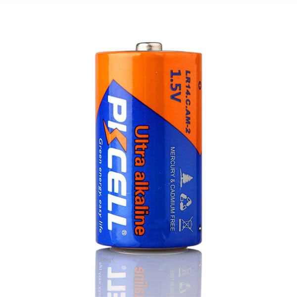 cheap price dry cell lr14 c size alkaline battery mercury free