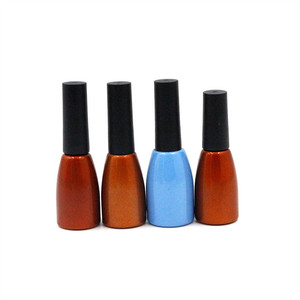 High end 3ml 5ml 10ml 12ml 15ml 20ml 30ml matte Empty UV gel nail polish glass bottles with screw cap and brush