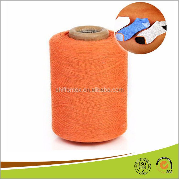 50 Polyester 50 Cotton Recycled Yarn for knitting socks