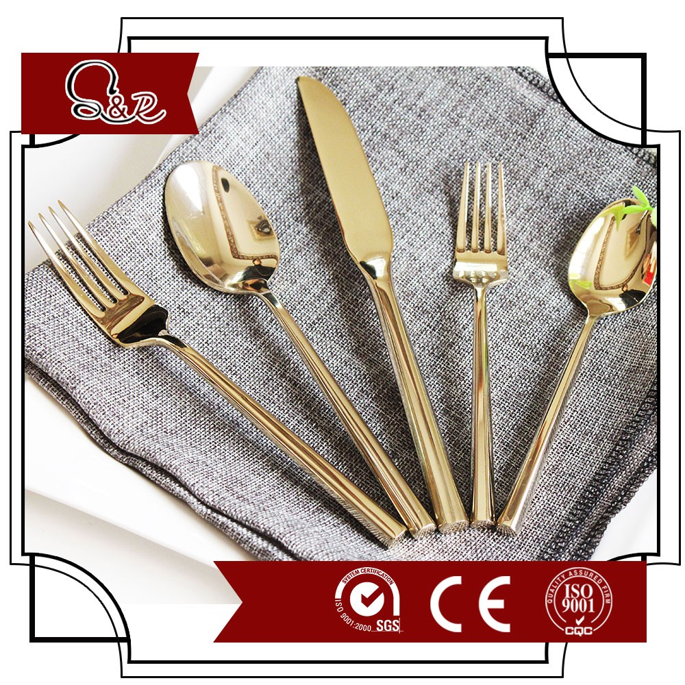 Royal spoon of Stainless Steel 430 material and high mirror polishing, SS flatware cutlery set
