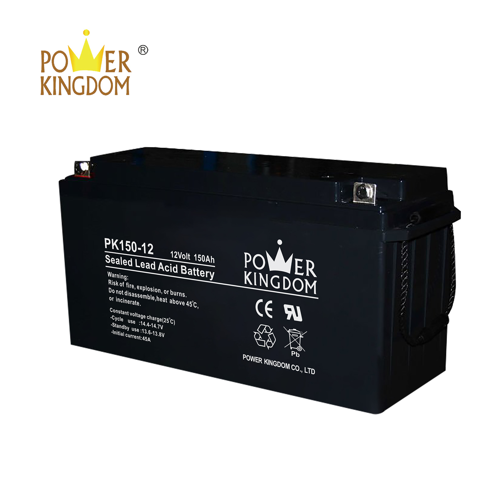Power Kingdom gel cell deep cycle battery order now solar and wind power system-2