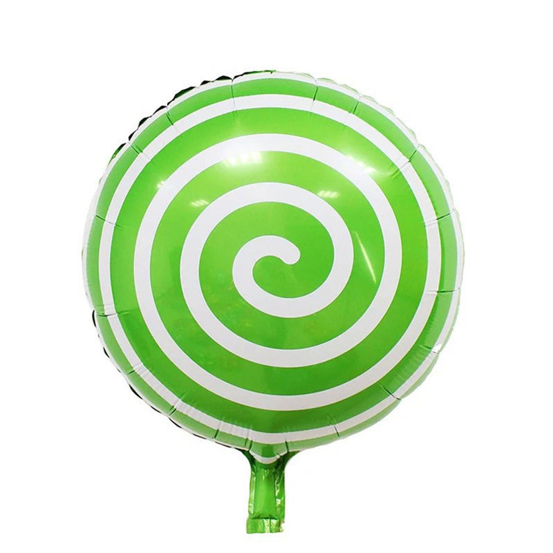 18 inch Helium Balloon Lollipop Large Aluminum Foil Balloons Inflatable Gift Children's Birthday balloon Party Decorations