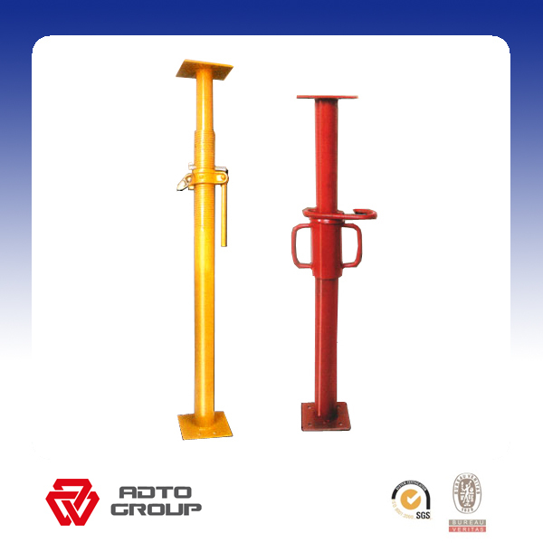Adjustable Telescopic Prop : Adjustable steel telescopic prop heavy duty acrow for