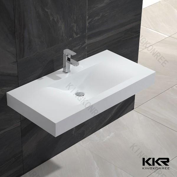 Kingkonree wholesale solid surface stone commercial for Best wash basin design