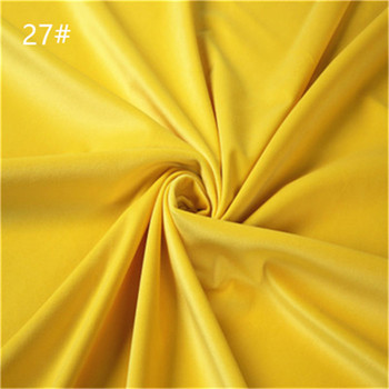 China manufacturer popular stretch plain velvet fabric for dresses