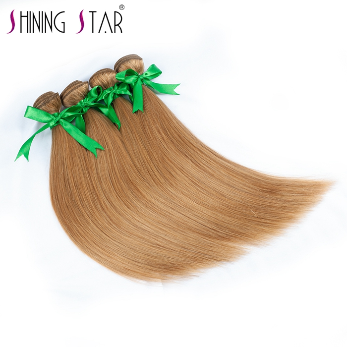 Shining Star wholesale no tangle no shed 11a grade/8 inch human hair weave