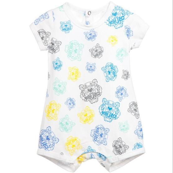 New 2016 100% Cotton Brand Summer infant baby rompers one-pieces clothing Newborn bebes Clothes