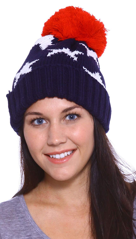 980256bcfb25b Buy Simplicity Aviator Womens Warm Beanie Snowboarding Winter Snow ...