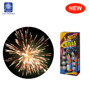 Wholesale 2018 US market 12 shots mini bomb crackling artillery shell fireworks