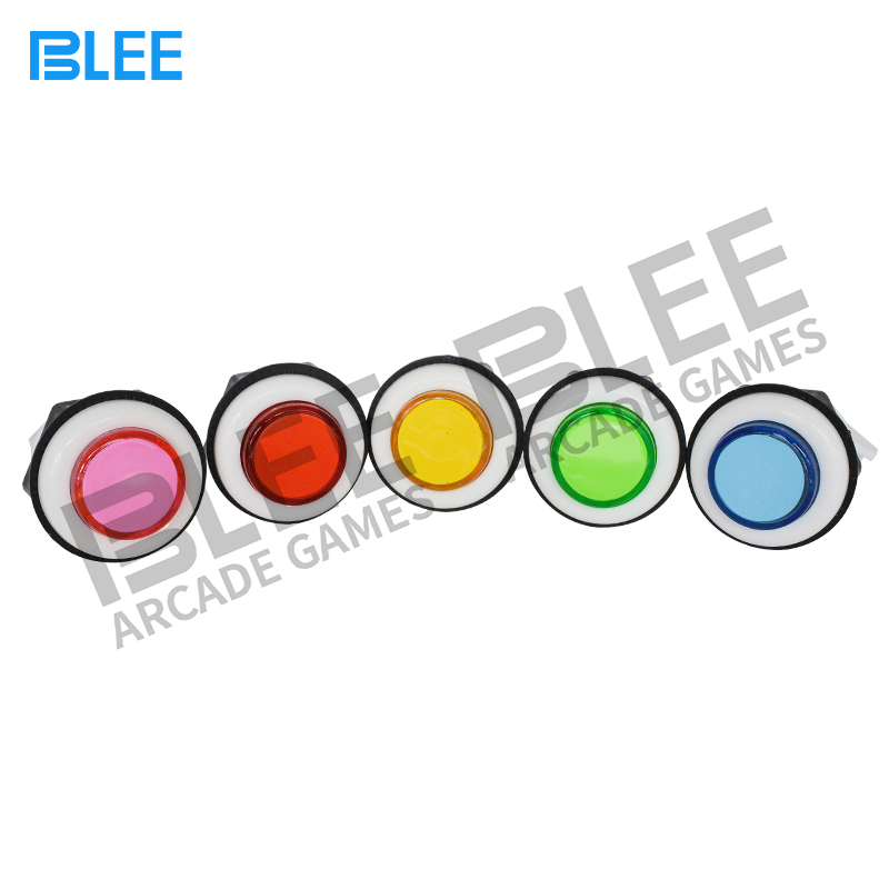 Arcade machine parts factory direct wholesale zero delay switch A4 / P4 colorful arcade game push button
