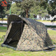 2 man air sealed camouflage camping inflatable carp fishing bivvy