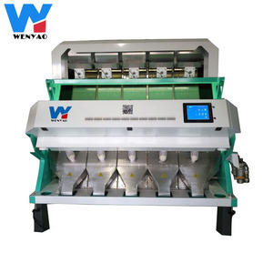 Rice color sorter color sorting Machine color selector for Grain Cereal, Wheat, Corn, Peanut, Beans,Seeds,Tea, quartz