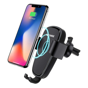 New Products Ideas 2018 Air Vent QI Fast Wireless Car Charger