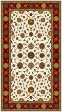Custom made, One-of-a-kind Hand Knotted Wool & Silk Carpet