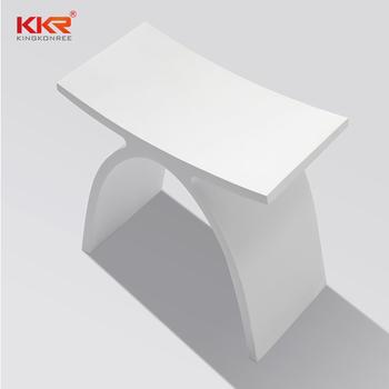 Moderne Acryl Mineralwerk Badezimmer Dusche Hocker Buy Acrylstein