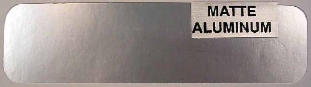 Bare Metal Foil Co 004 6x11 Thin Sheet Matte Aluminum Foil
