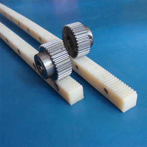 High performance custom cnc plastic gear rack and pinion