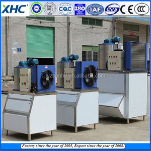 Small business Automatic salt water Flake ice machine plant with low price