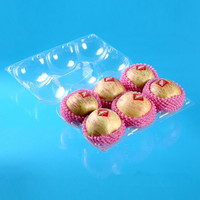 Disposable Blister Pet Pp Pvc Ps Clear Plastic Box With Lid For ...