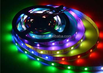 3w rgb ws2811 rgb 5050 led light strip smd5050 rgb flexible led 3w rgb ws2811 rgb 5050 led light strip smd5050 rgb flexible led strip 60led aloadofball Image collections