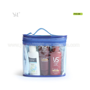 Wholesale promotional waterproof clear pvc cosmetic bag