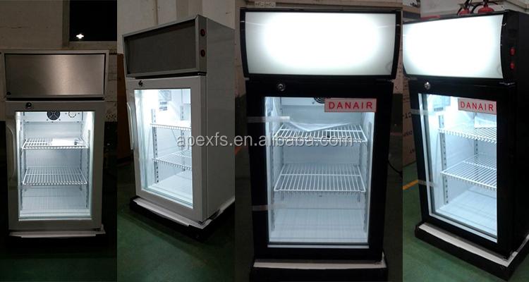 Mini Kühlschrank Für Schreibtisch : Schreibtisch oben display kühler arbeitsplatte mini kühlschrank mit